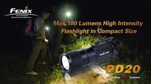 Lanterna Led PD20 R5 de la Fenix este ideala pentru uz general si poate fi folosit cu usurinta de orice mebru al familiei.