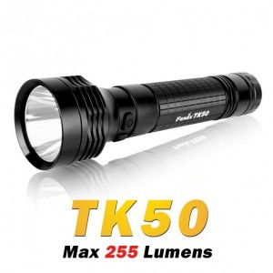 Fenix TK50 R5 are standard IPX 8. Lanterna ramane functionala in conditii de scufundari.