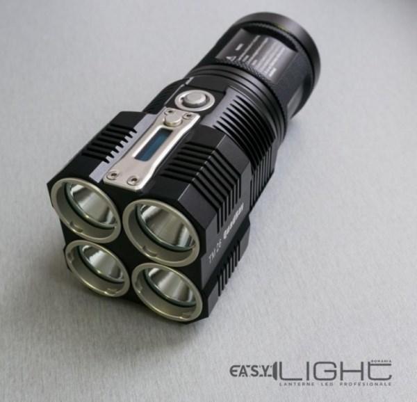 nitecore TM26, una dintre cele mai populare lanterne LED profesionale