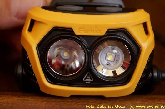 Lanterna speologie - Fenix HP25