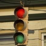 La începuturile lui, semaforul era lanternă