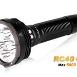 O lanternă de mare putere care nu lasă loc de discuţii: Fenix RC40 (2016), 6000 de lumeni!
